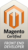 magento 1 front-end developer certificaat