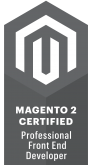 magento 2 front-end developer certificaat