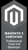 magento 2 front-end developer certificaat