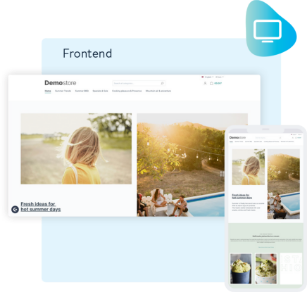 Shopware Channel Frontend